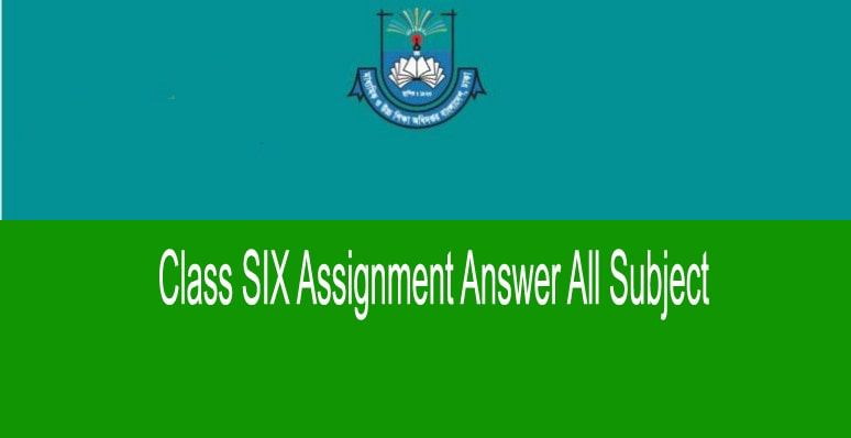 Class 6 Assignment 10th Week Answer